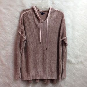 AE soft hooded sweater.